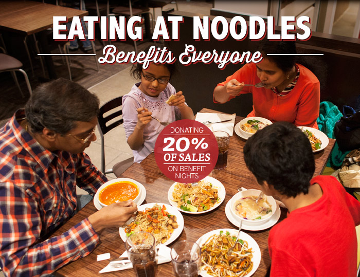 Noodles Benefit Night